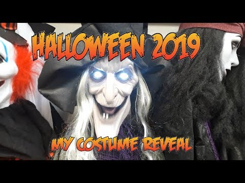 B&M Halloween Shopping Vlog 2019 & Haul - My Halloween Costume Reveal, Spooky Decorations & More!!