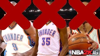 NBA 2K16 Rebuilding Challenge #3: NO KD, WESTBROOK, OR IBAKA