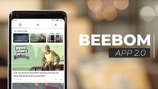 Beebom App 2.0: Portrait Videos, Gestures, Dark Mode and Lot More!