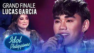 "Lucas Garcia sings ""Because You Believed"" 