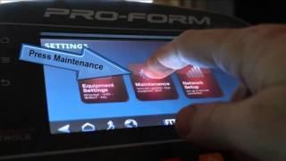 935e ProForm Smart Strider Elliptical Configuration Part3