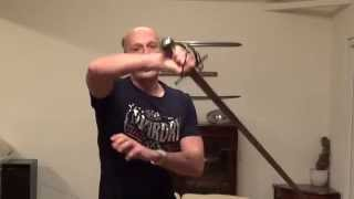 Cutting at (beating) rapier and smallsword blades with sabres, broadswords, longswords