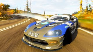 TOP 1000 IN THE WORLD USING THE OP VIPER DRIFT CAR | Forza Horizon 4