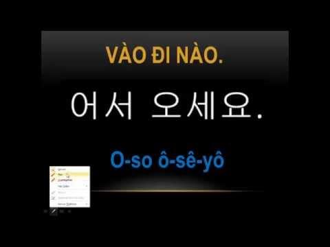 Học tiếng Hàn #19 Đến ngay nhé