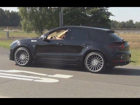 Hamann Porsche Macan S Diesel Widebody V8 Fake Sound Klang 31 Conti