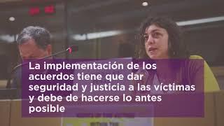 En apoyo al Proceso de Paz en Colombia