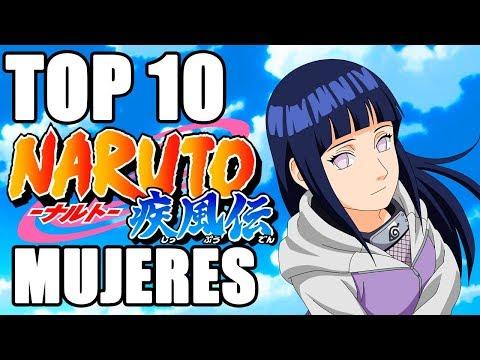 Top 10 Mujeres más Fuertes de Naruto