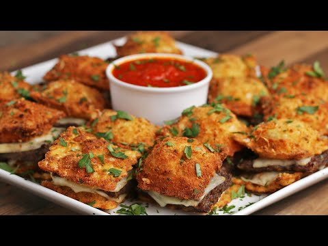 Fried Ravioli Sliders