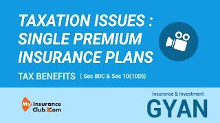 Taxation issues in Single Premium Life Insurance Plans