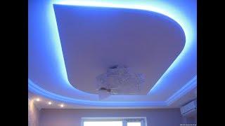 Дизайн со светодиодной подсветкой в квартире