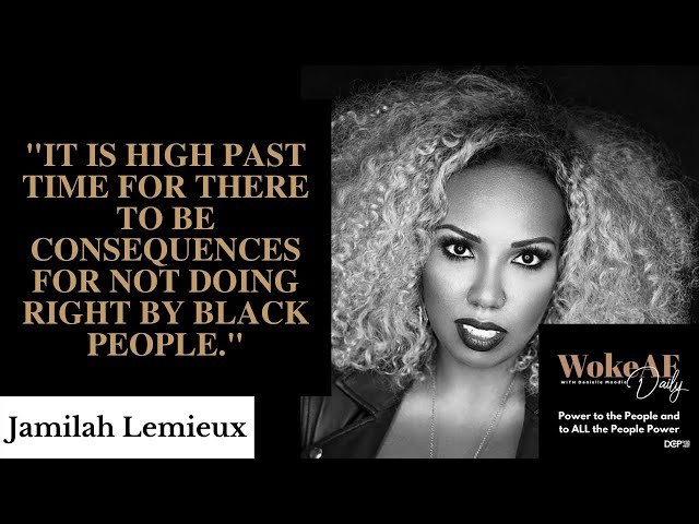Jamilah Lemieux: Dems Need to Show Up for Black Voters - WokeAF Daily