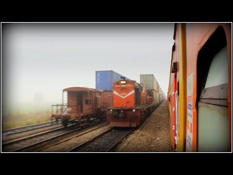 DOUBLE DECKER Express | Jaipur - Delhi Full Journey | Fastest NWR Train | Indian Railways