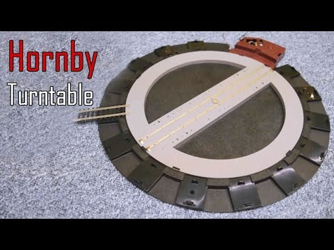 Unboxing & Repairing the Hornby Turntable