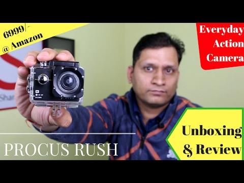 Every Day use Action Camera Procus Rush   Sharmaji Technical
