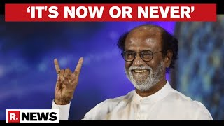 'My Victory Will Be Your Victory': Rajinikanth Announces His Political Entry
