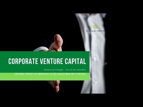 O Corporate Venture Capital no Brasil - Semana da Inovação