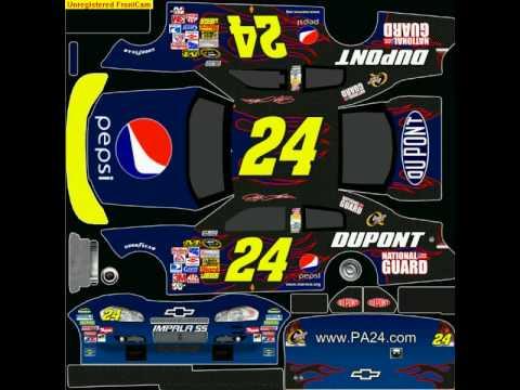 NASCAR 09 custom car contest Tiebreaker - YouTube
