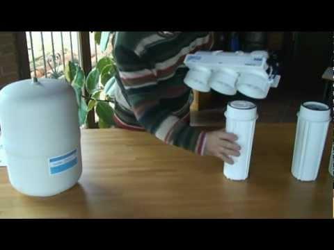 Como instalar un equipo de osmosis inversa para consumo for Descalcificador de agua casero