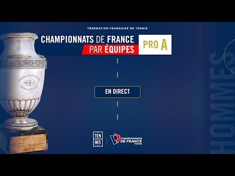 Finale Hommes - Championnat de France par équipes PRO A - Talence