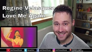 Regine Velasquez - Love Me Again (BEST PERFORMANCE) | REACTION
