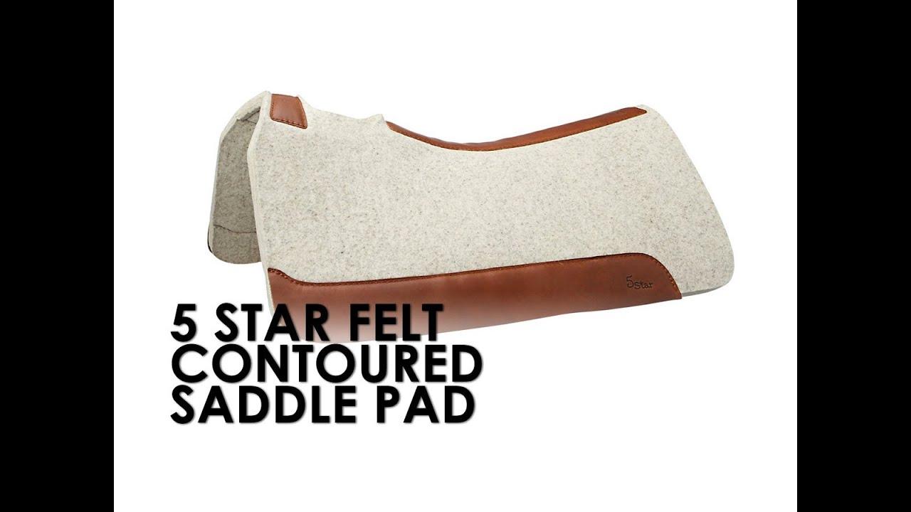 5 Star Flex Fit Saddle Pad