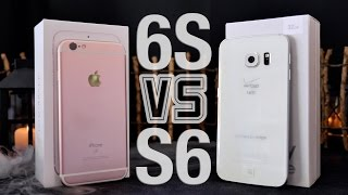 iPhone 6S VS Samsung Galaxy S6 Edge Full Comparison!