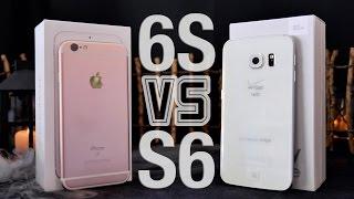 iPhone 6S VS Samsung Galaxy S6 Edge Full Comparison!