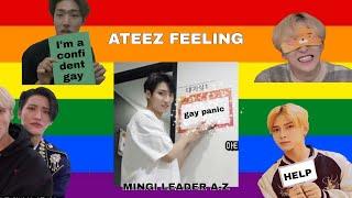 ATEEZ FELLING GAY PANIC