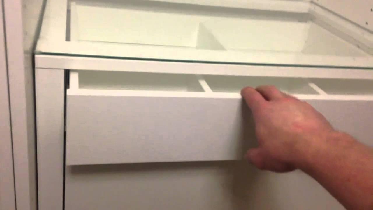 Ikea  wie bekommt man die Schublade auf  YouTube