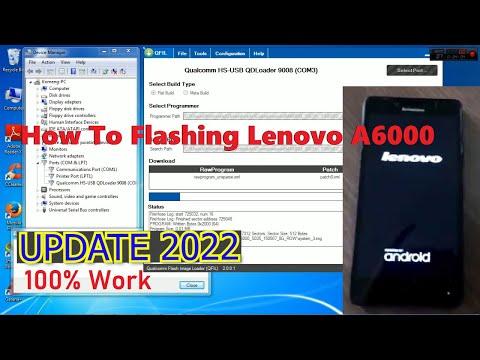 tutorial-flash-lenovo-a6000-[update]-100%-work