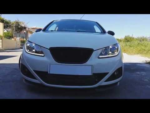 Seat 6J Porche Angel Eye + Flow Daylight  Headlight Retrofit Car Review