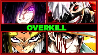Biggest Overkills in Anime