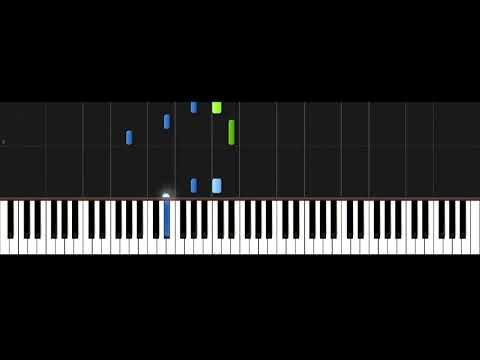 Nico Vinz - Am I Wrong Piano Synthesia