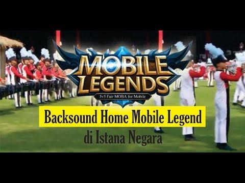 BACKSOUND MOBILE LEGEND DI ACARA 17 AGUSTUS 2018, ISTANA NEGARA INDONESIA