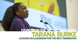 Thumbnail Ivey Leadership Lessons: Tarana Burke, Founder of the #MeToo Movement
