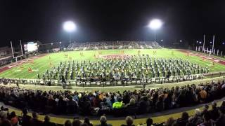 WVHS @ Alcoa Marching Band Competition 2015