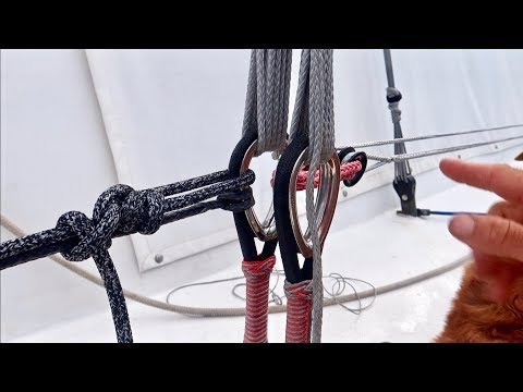 Tensioning Kraken Structures Deadeyes For Synthetic Standing Rigging