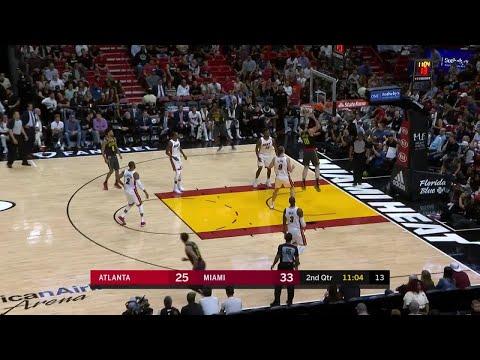 2nd Quarter, One Box Video: Miami Heat vs. Atlanta Hawks