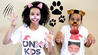 ANIMALS vs Shasha and Shiloh! - Onyx Kids