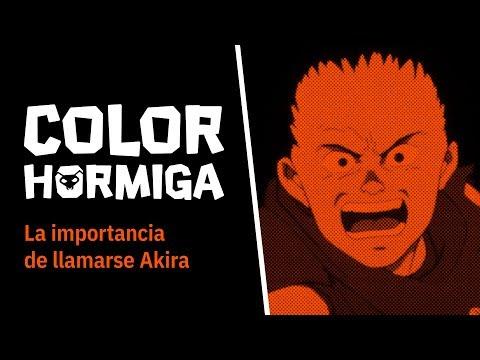 COLOR HORMIGA #9: La importancia de llamarse Akira
