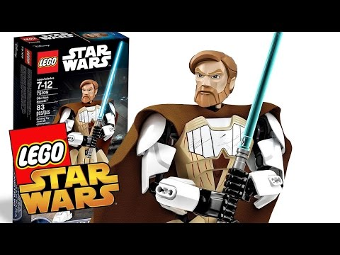 Star Wars Toys - Lego Buildable Figures: Obi-Wan Kenobi Action Figure