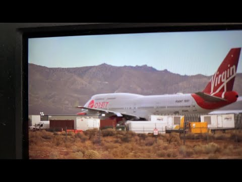 LIVE: Virgin Orbit Launcher One on Runway