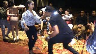 Mike Faya social salsa dancing @ LVS-SC'18!