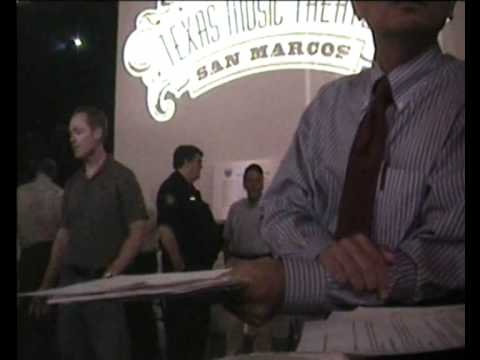 Dr. Huang Travis County MHMR Dodges Question.  Attends a Smoking Bar, Claims SHS is Harmful