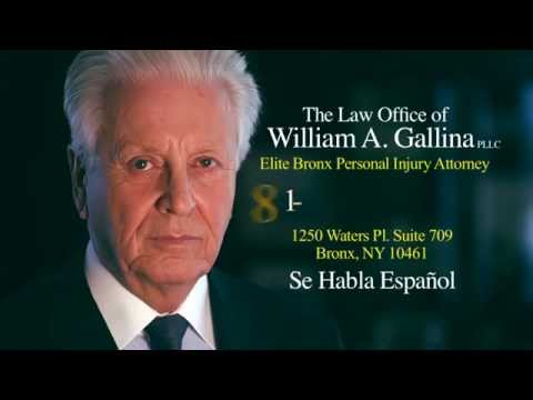 Personal Injury Attorney Bronx – The Law Office of William A. Gallina