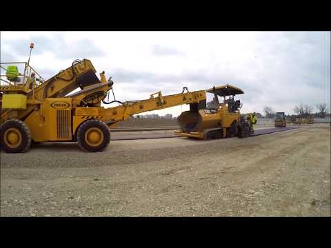 Continuous Paving Application Demonstration