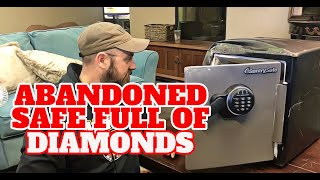Abandoned Sentry SAFE SMASHED OPEN | GOLD & DIAMONDS FOUND INSIDE! I