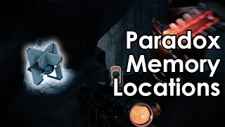 Destiny Taken King: Paradox Daily Heroic - Praedyth Ghost Memory Locations