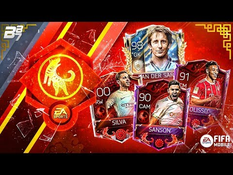 LUNAR NEW YEAR UNLOCKS! PRIME VAN DER SAR AND CRIMSON TOLISSO / SILVA! | FIFA MOBILE