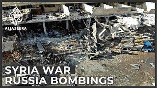 Russian bombings intensify in Syria's Idlib